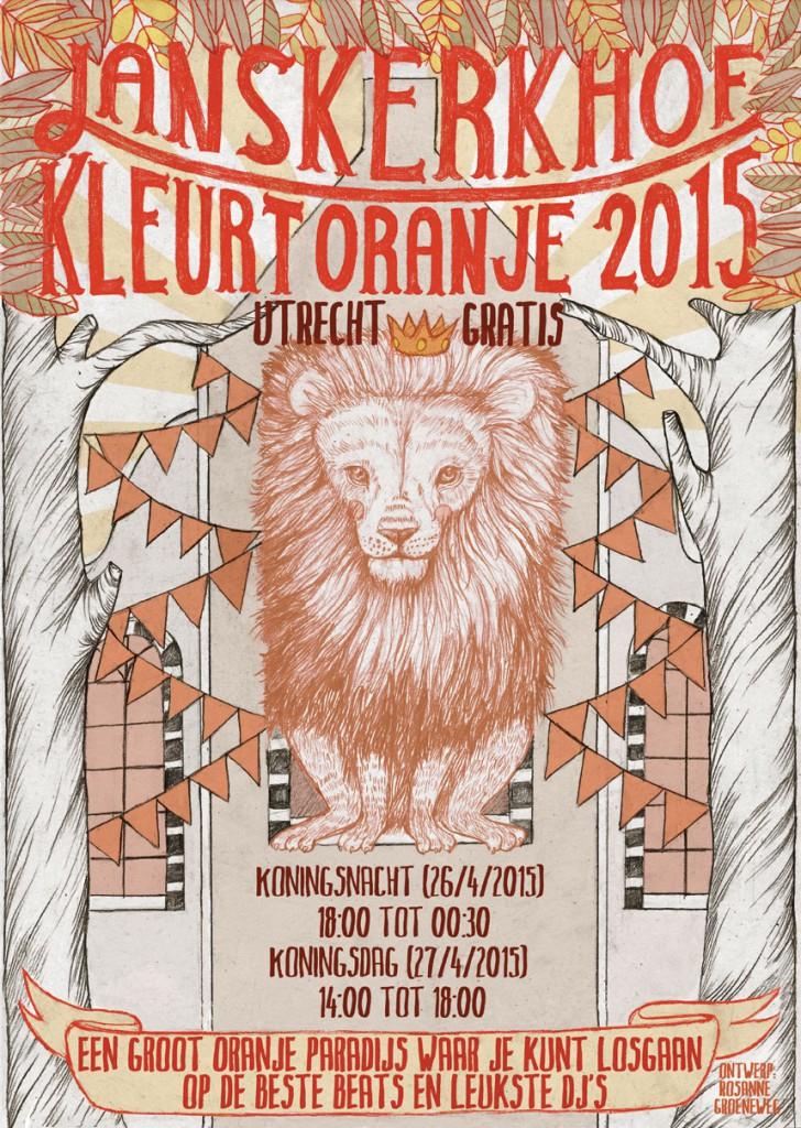 poster kingsday janskerkhof online versie
